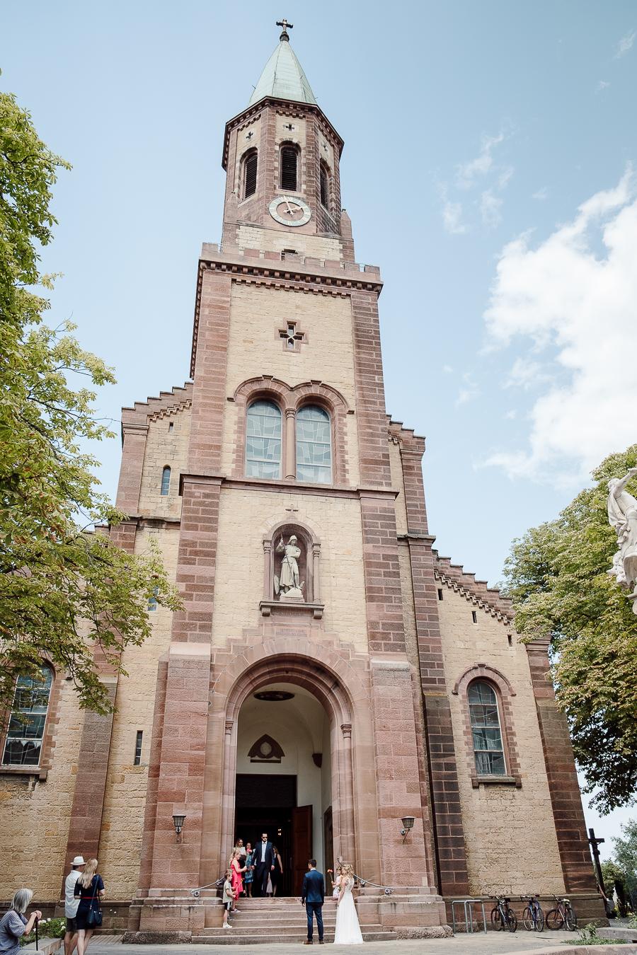 HOCHZEIT IN ST. OTTILIEN IN FREIBURG