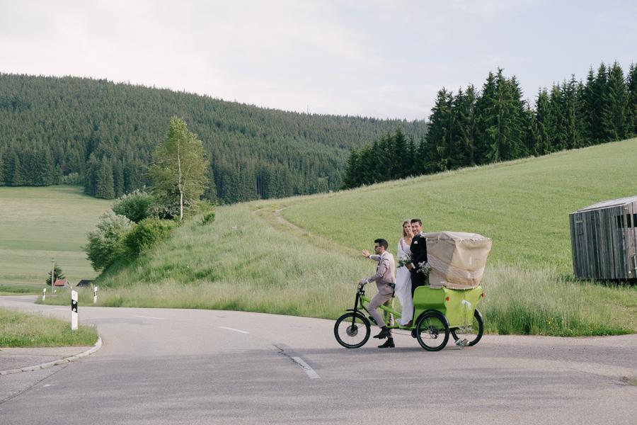 Hochzeit in der Förberhofmühle bei Titisee-Neustadt